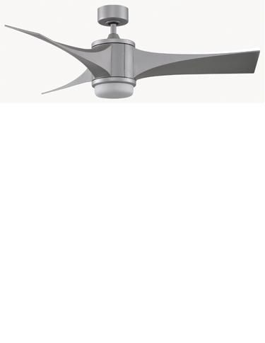 Fanimation adds a twist to the world of three bladed ceiling fans ceiling fan manufacturers show off the dallas debuts that they feel will define the category in mozeypictures Image collections