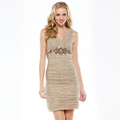 Women's 1 by 8 Embellished Sheath Dress