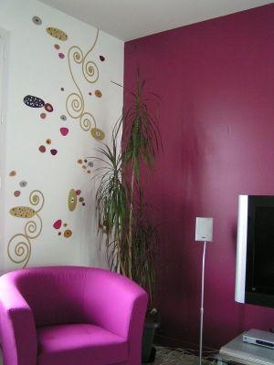 couleur mur pour sejour design - Recherche Google | Sejour modele ...