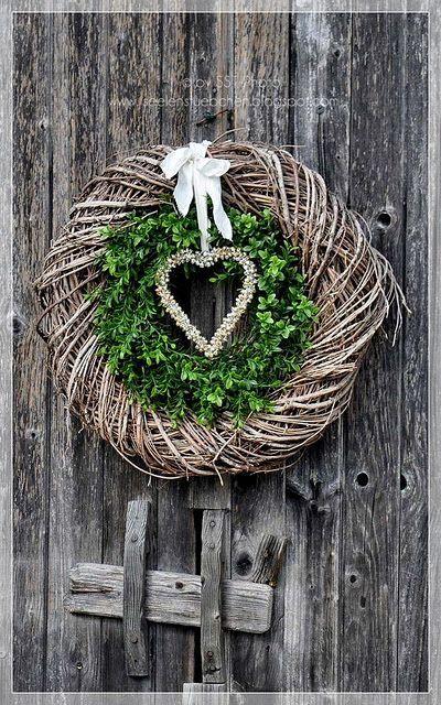 14 tolle diy ideen f r wundersch ne kr nze im herbststil - Weidenkranz dekorieren ...