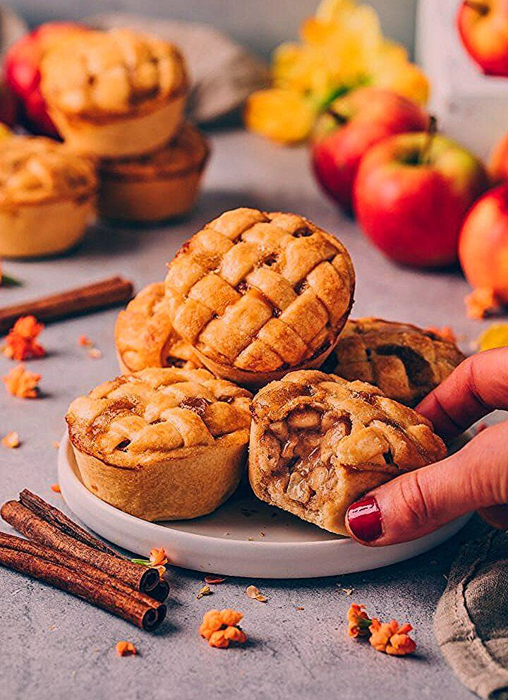 Photo of Mini Apple Pies | Vegane Apfel Muffins – Bianca Zapatka | Rezepte