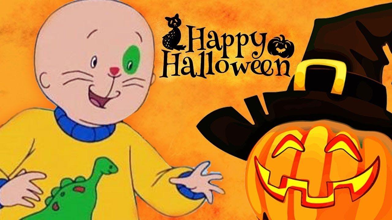 Caillou Dessin Anime Complet En Francais Caillou Adore L Halloween Cartoon Kids Cartoon Anime