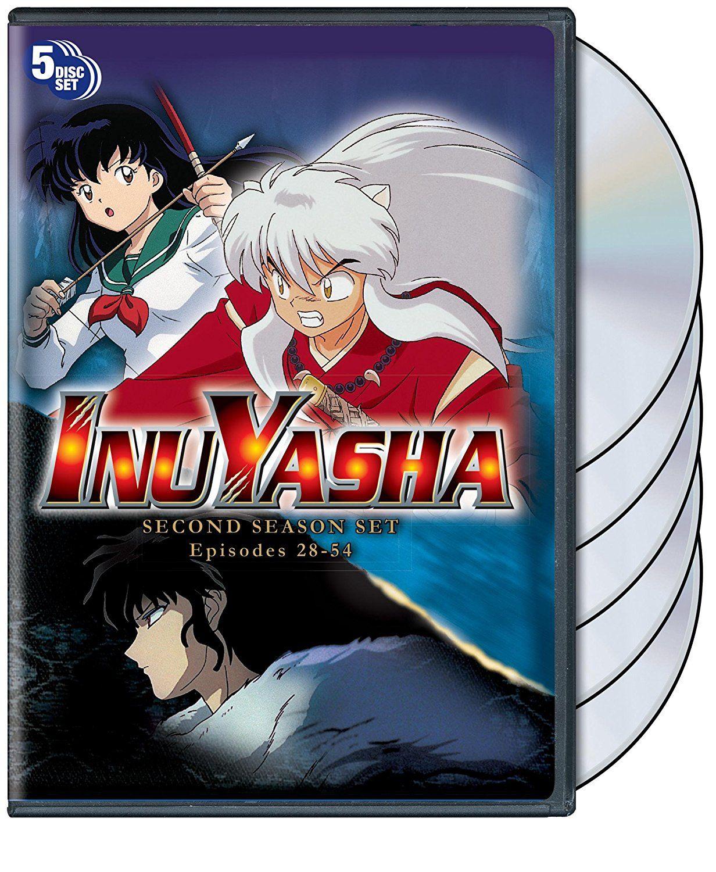 Inuyasha Season 2 Set Inuyasha, Anime, Seasons