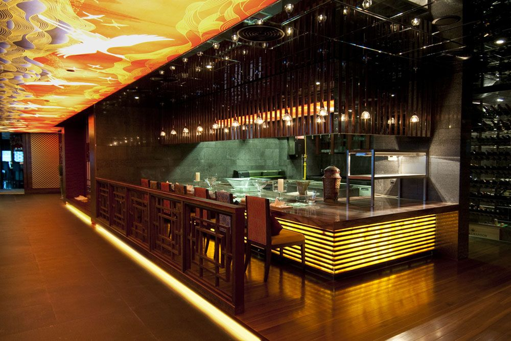Sushi Bar Design sushi restaurant decor - google search | o'sushi | pinterest