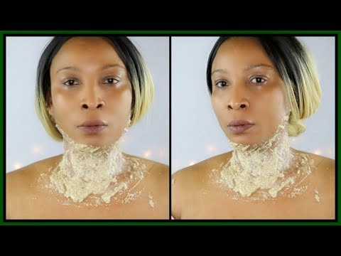 (261) HOW TO GET RID OF NECK WRINKLES AND SAGGING JAWLINE   GET RID OF TURKEY NECK FAST  Khichi Beauty - YouTube