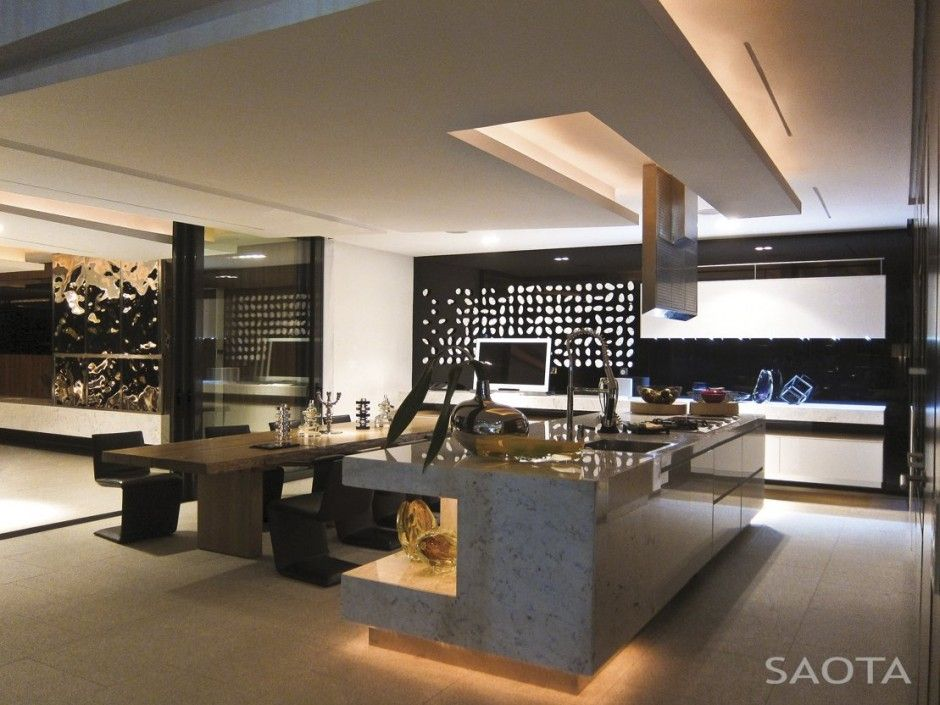 Luxury Modern Kitchen Designs Decoration Delectable Awesome Architecture » Dakar Sow House In Dakar Senegalsaota . Design Ideas