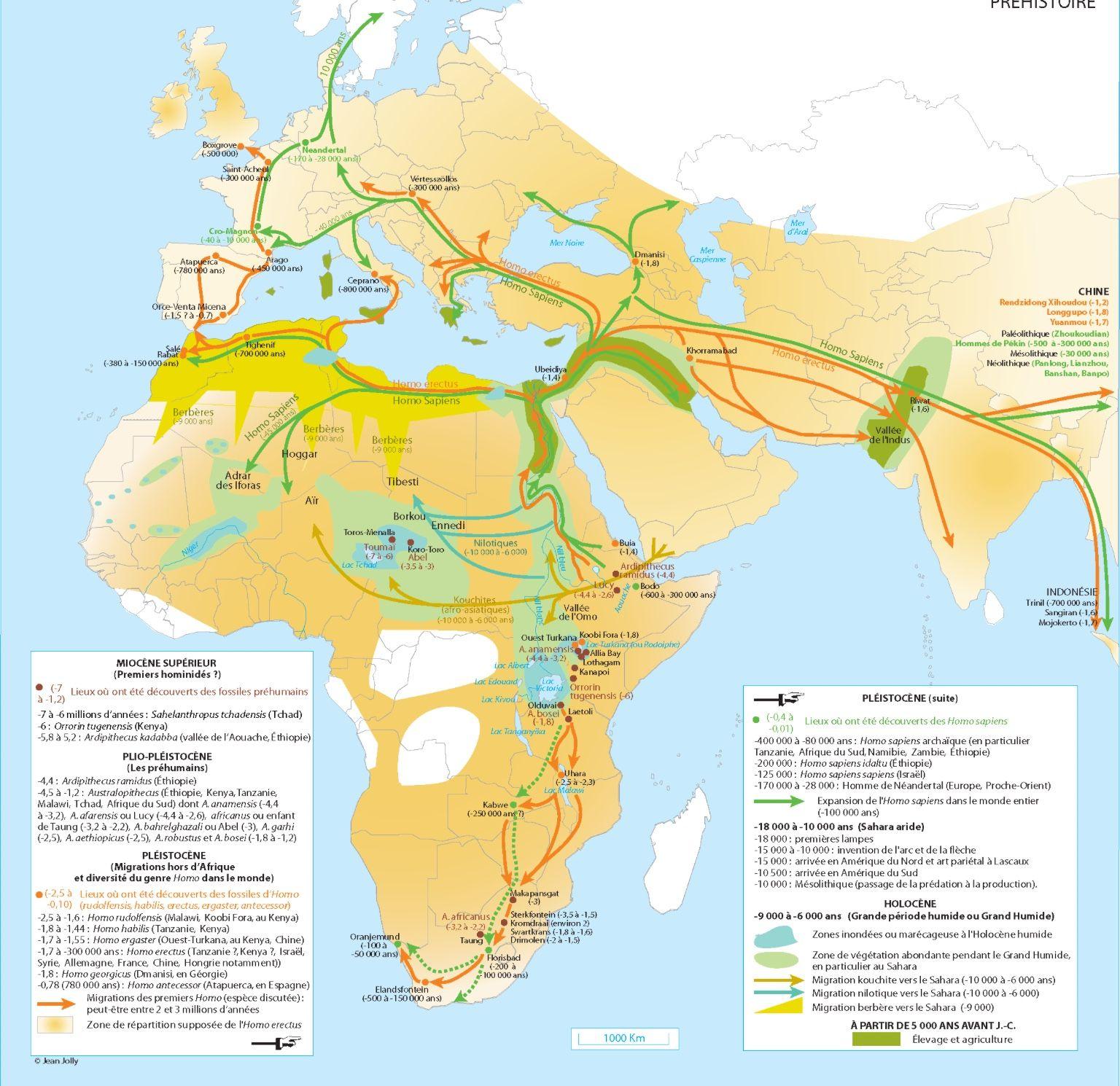 Epingle Par Paul Burnier Sur Maps That Tell A Story Prehistoire Afrique Cartes
