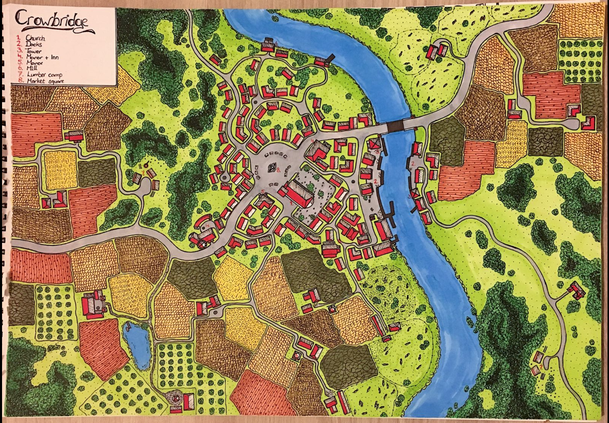 Coloured my map ireddit submitted by Velnerius