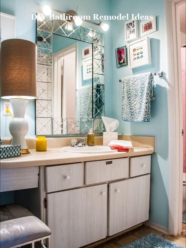 Incredible DIY Ideas for Bathroom Makeover u0026