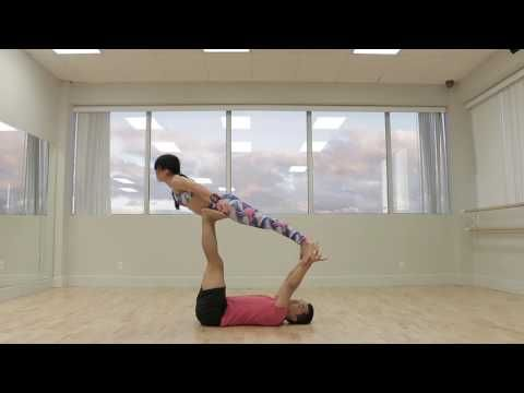 washing machine beginner acro yoga flow sequence 2