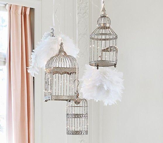 monique lhuillier birdcages shabby chic kids bedroom nursery rh pinterest com