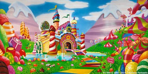 Christmas Candyland Backdrop.Candyland Google Search Cartoon City Christmas
