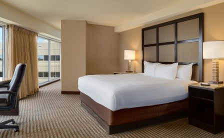 Hyatt Regency Greenville Main Street King Guestroom Http Www