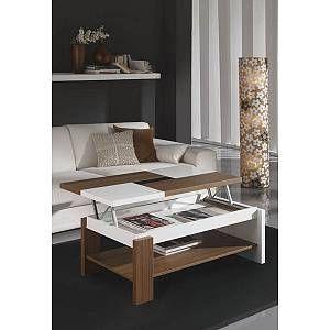 Table basse relevable design