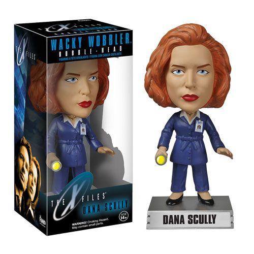 X-Files Dana Scully Bobble Head - Funko - X-Files - Bobble Heads at Entertainment Earth