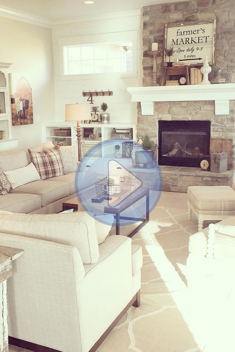 Pin On Living Room #shabby #chic #farmhouse #living #room