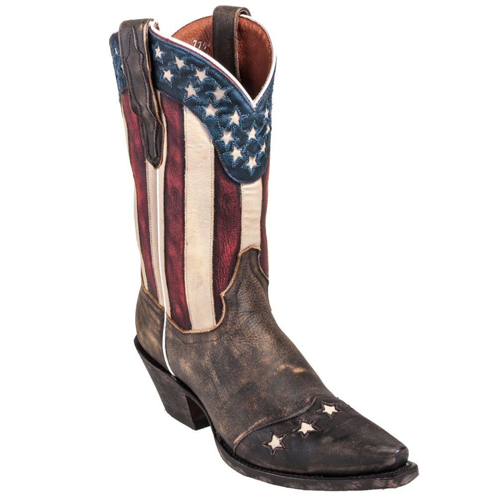 Women's Stars and Stripes Western Boot
