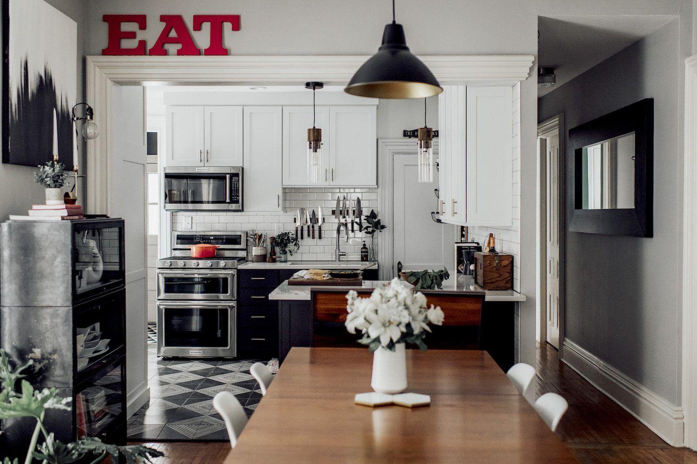 michelle nick s super chic modern boho kitchen with images boho kitchen kitchen remodel on kitchen interior boho id=95579