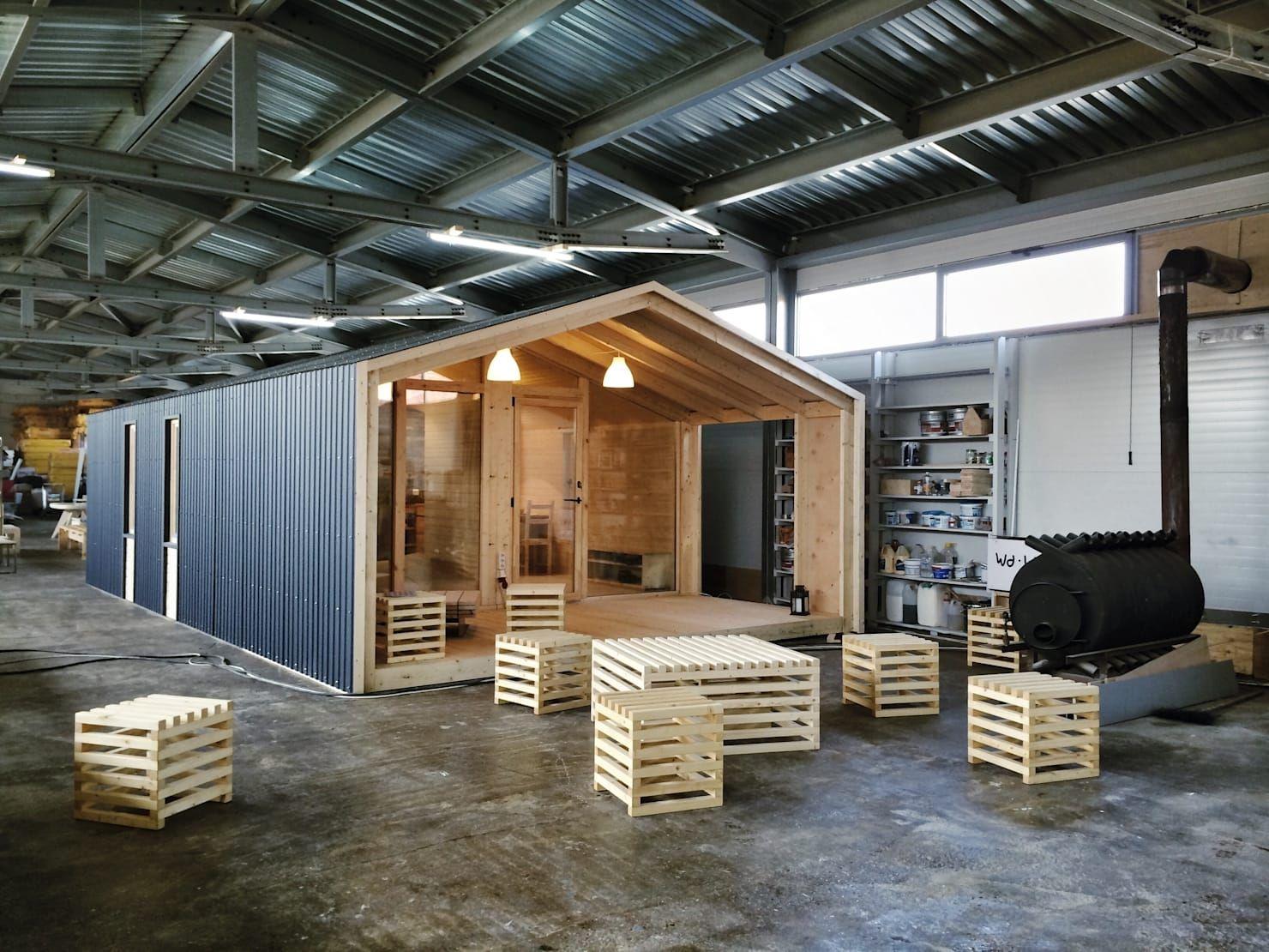 ein gro artiges modulhaus gebaut an nur einem tag container house skandinavisches haus
