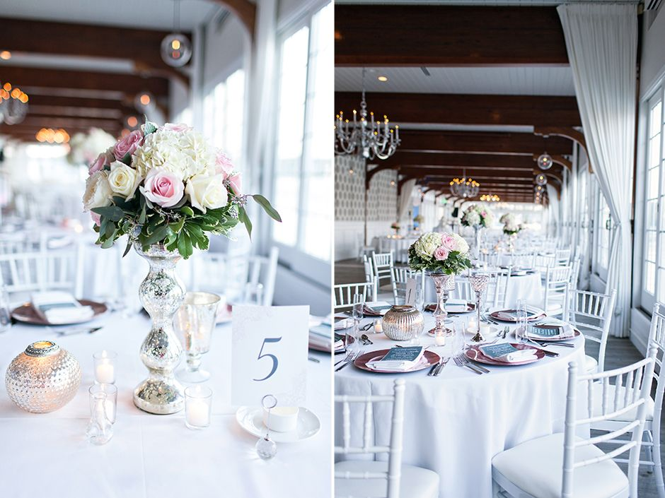 Cape Cod Wedding Ideas Part - 18: Wychmere Beach Club Wedding | Pink Wedding Details | Cape Cod Wedding