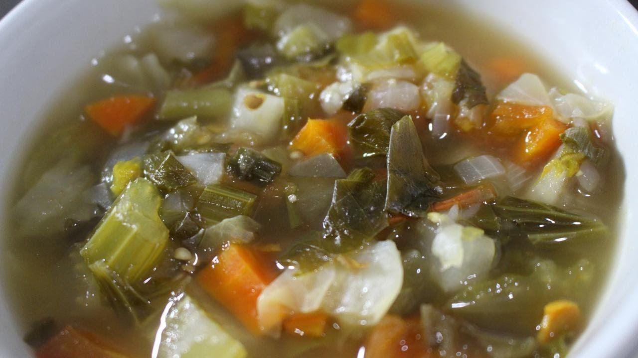 dieta da sopa para emagrecer 7kg em 1 semana