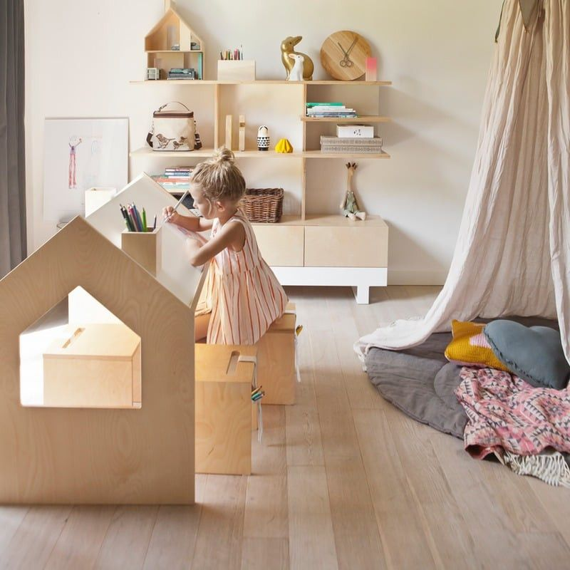 Kutikai Kindertisch aus Holz Kids furniture, Kids room
