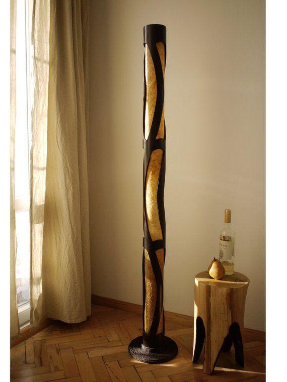 floor lamp interior lamp wedding gift bamboo floor lamp back to rh pinterest com