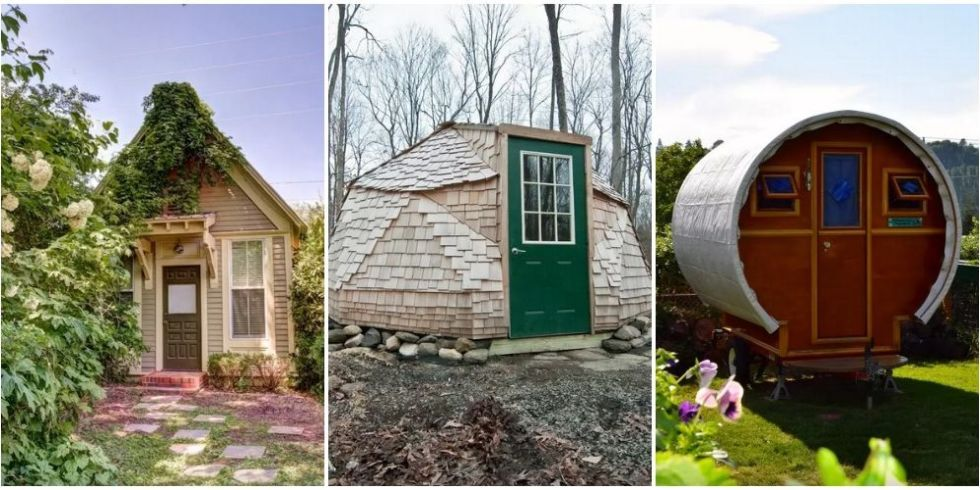 the cutest tiny house rentals in every single state around the rh pinterest com