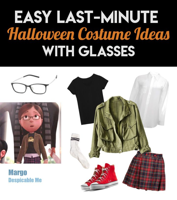 Easy Last,Minute Halloween Costume Ideas with Glasses in
