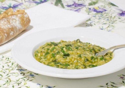 Arroz meloso con espinacas para #Mycook http://www.mycook.es/receta/arroz-meloso-con-espinacas/