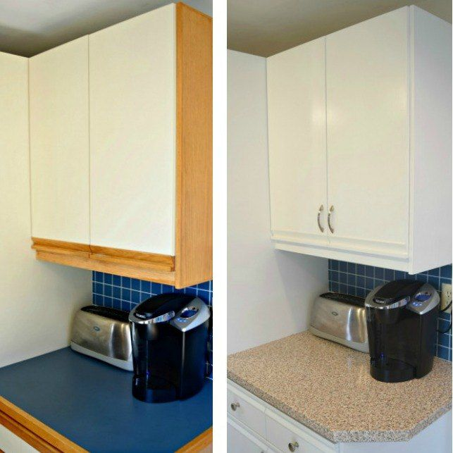 Best Tips For Updating 80 S Kitchen Cabinets Melamine 640 x 480