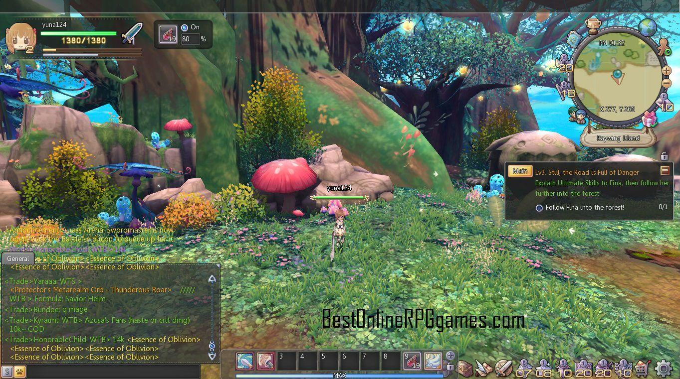 Overall Twin Saga Is One Of The Best 3d Mmorpgs Games I Have Played In The Past Year The Graphics Are Charming And The Gameplay Comb Azusa Mmorpg Free Mmorpg
