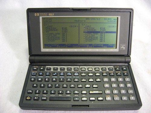 HP 95LX Palmtop PC With Lotus 1 2 3 512k RAM