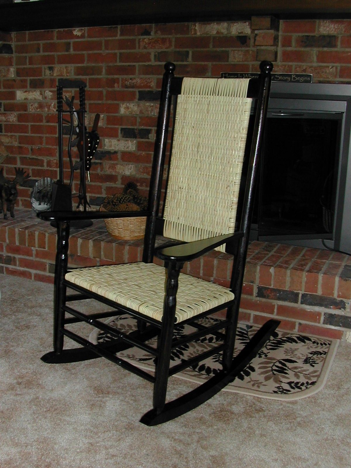I created this Kennedy Rocker using a copy of vintage plans of the