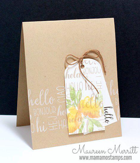Maureen Merritt for the WPlus9 June Release - Feminine Greetings & Salutations