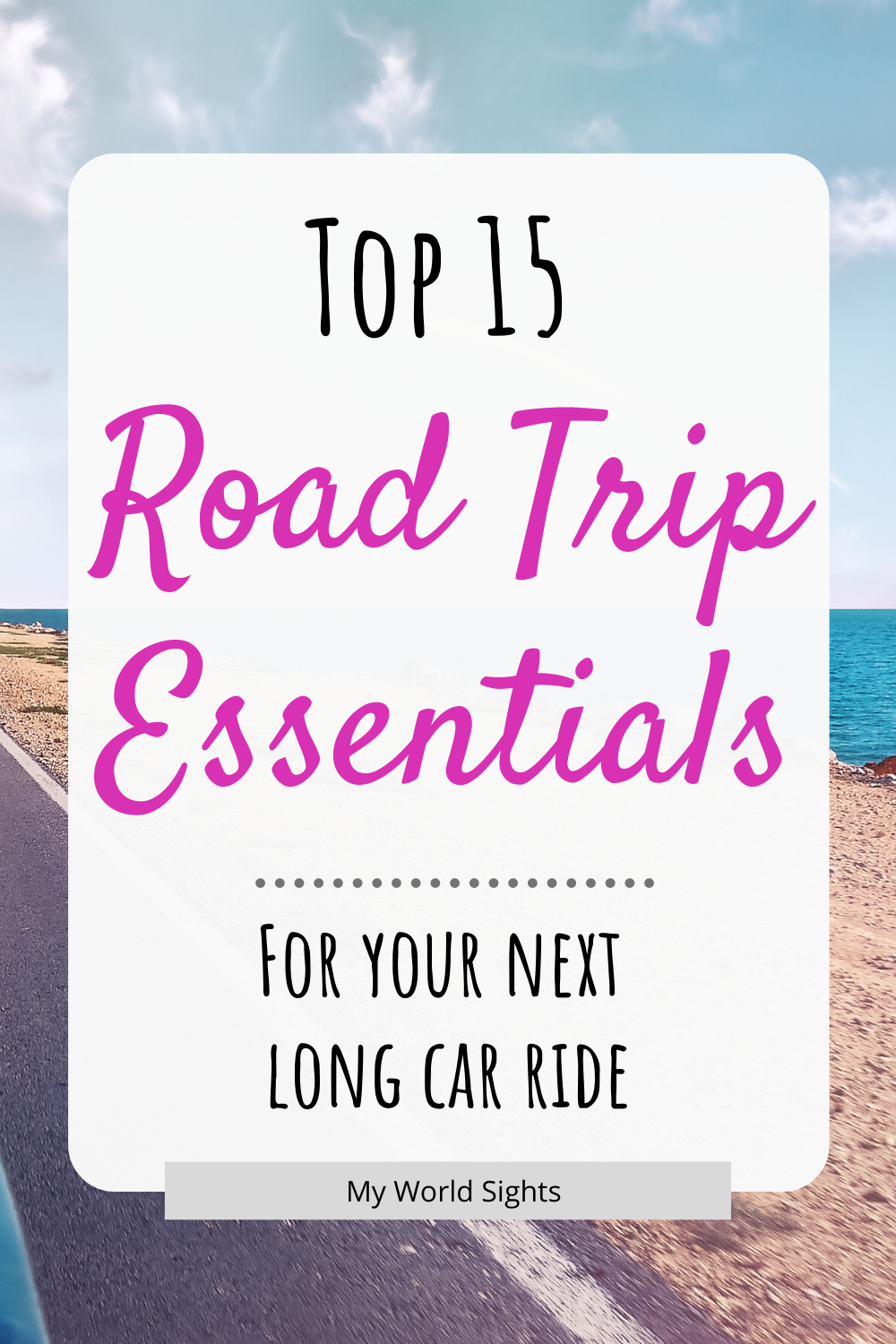The top road trip essentials for your next long car ride! Road trip snacks, ideas for kids, and packing tips! Road trip hacks, things to do, and packing checklist! Long car ride games and snacks, and activities for kids!  #roadtripaesthetic #roadtripusa #roadtrip #carride #carrideessentials