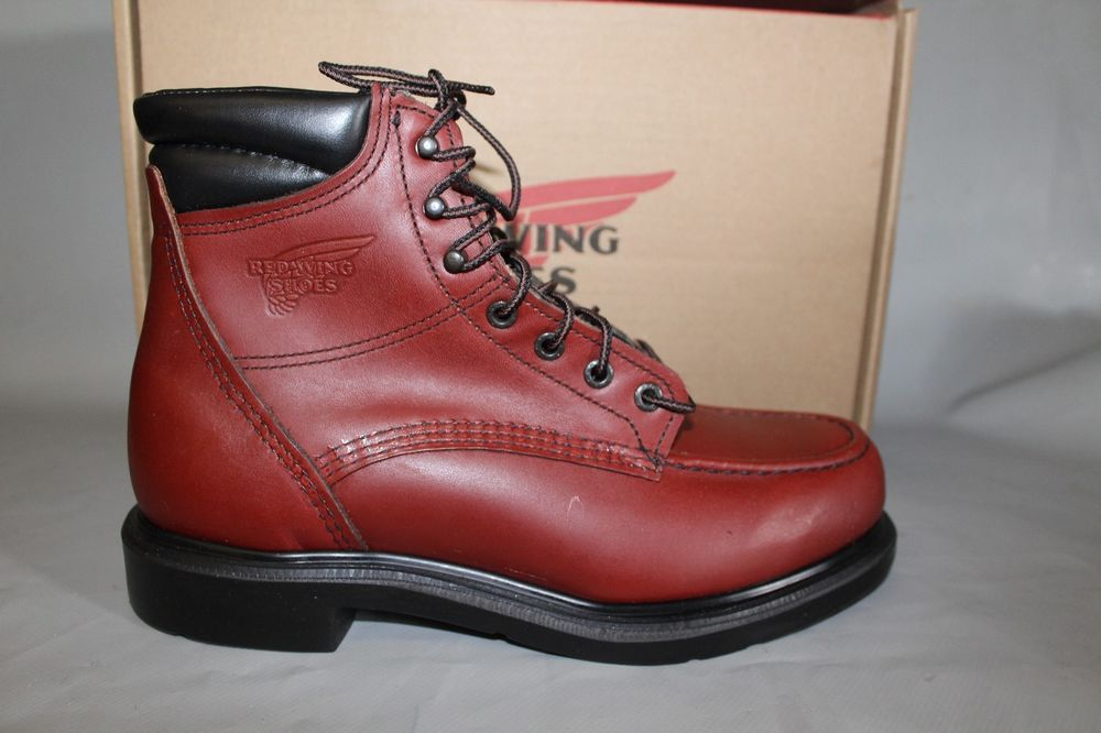 New mens red wing 202 6 water resistant leather work