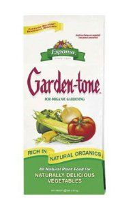 Espoma GT4 4-Pound Garden-Tone 4-6-6 Plant Food by Espoma. $5.72. No sludges, hazardous or toxic ingredients. Environmentally safe. Complex blend of natural organics provide complete and balanced feeding of all 15 nutrients. Originally developed for professional gardeners. A complete plant food with all 15 essential nutrients. Espoma gt4 4-pound garden-tone 4-6-6 plant food. Save 64%!