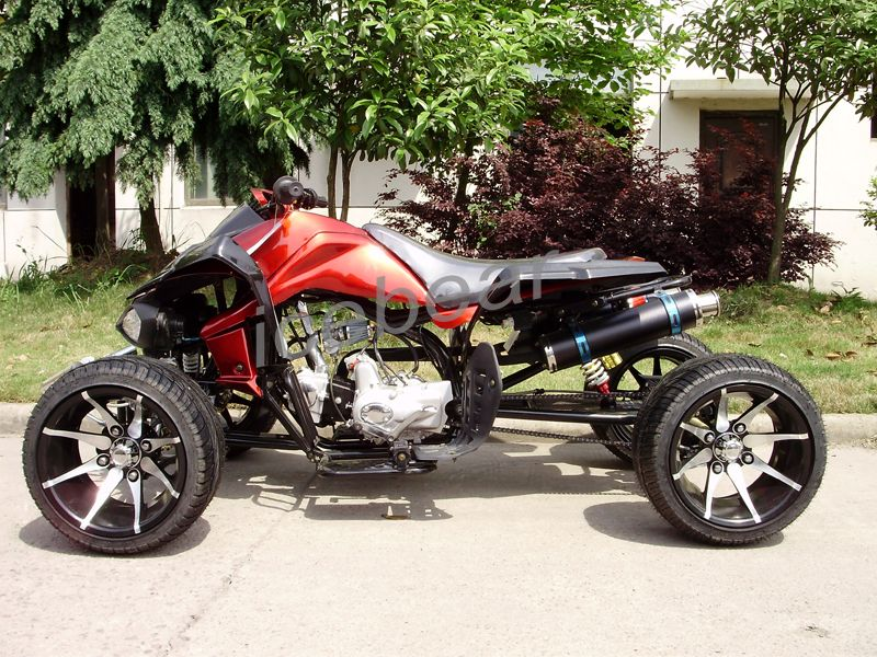 Atv R 12 Viper Deluxe Japanese Style 125cc Racing Quad With Custom
