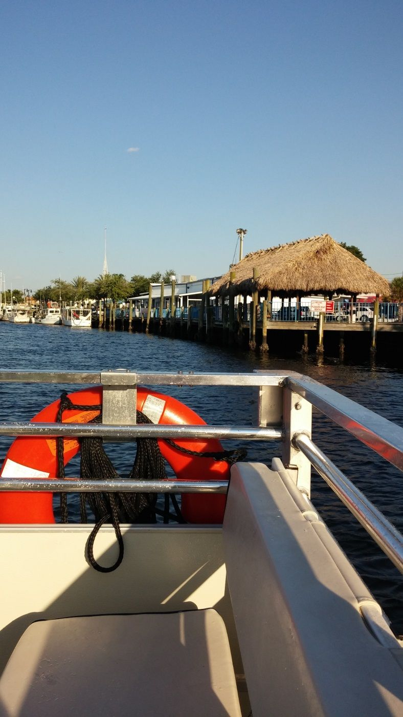 Boat tour on the Anclote River of Tarpon Springs