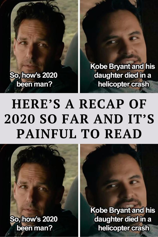 Here S A Recap Of 2020 So Far And It S Painful To Read In 2021 Cheesy Jokes Funny Corny Jokes Really Funny Memes