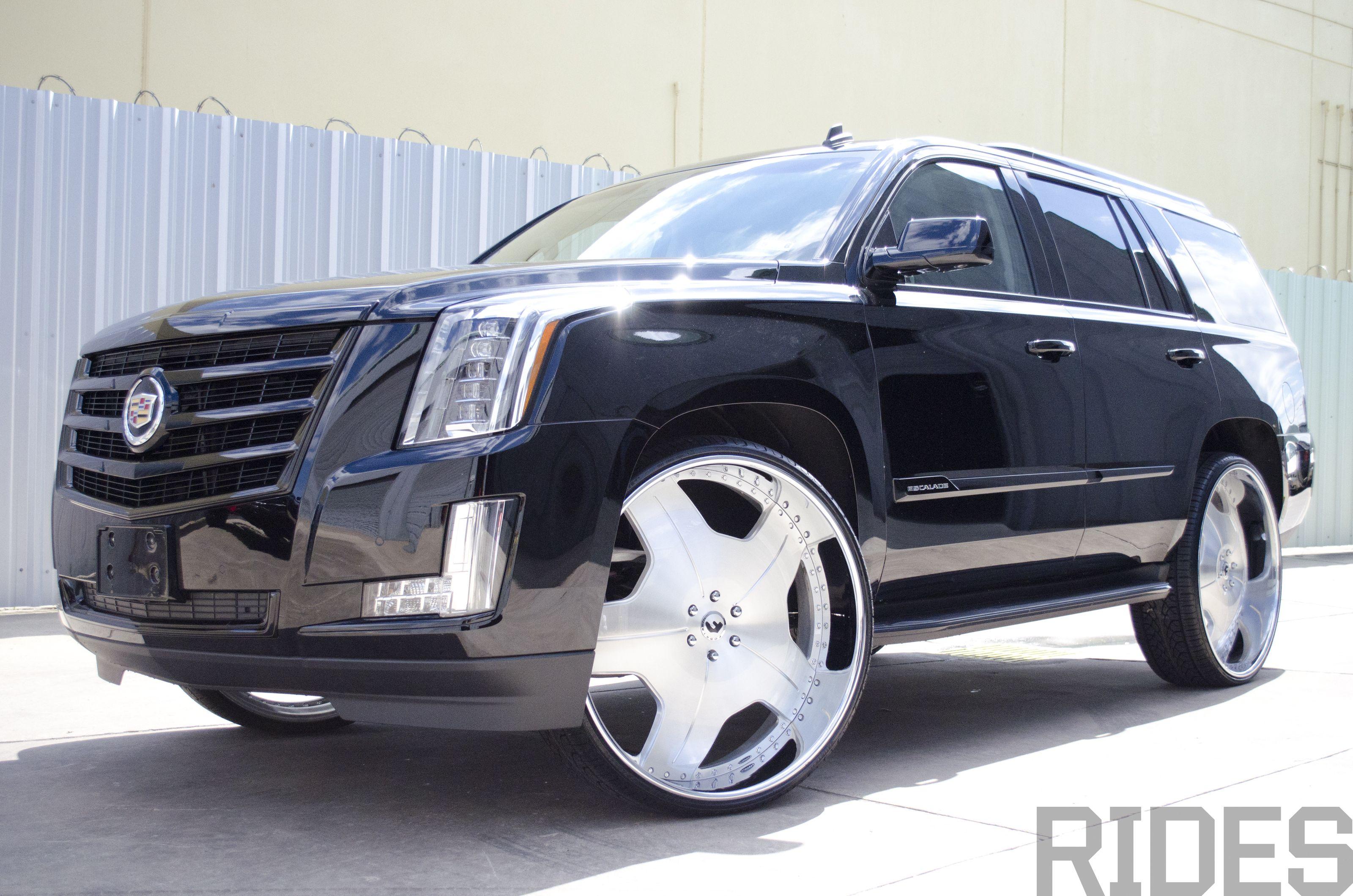 30 Inch Rims On Trucks : Cadillac escalade on inch forgiato wheels rides