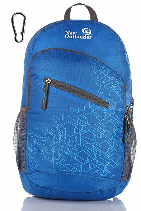 a01c2d580f Outlander Packable Handy Lightweight Travel Hiking Backpack Daypack-Dark  Blue
