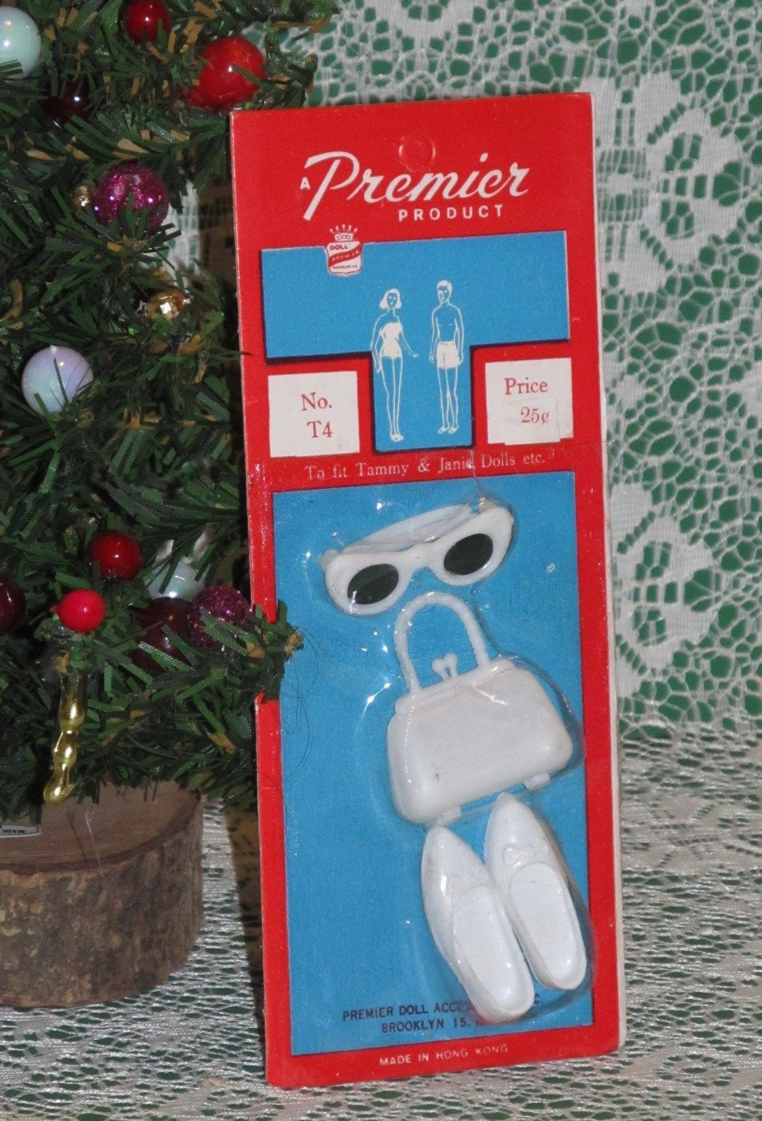 Premier White Sunglasses Handbag and Heels for Tammy Mint on Card | eBay