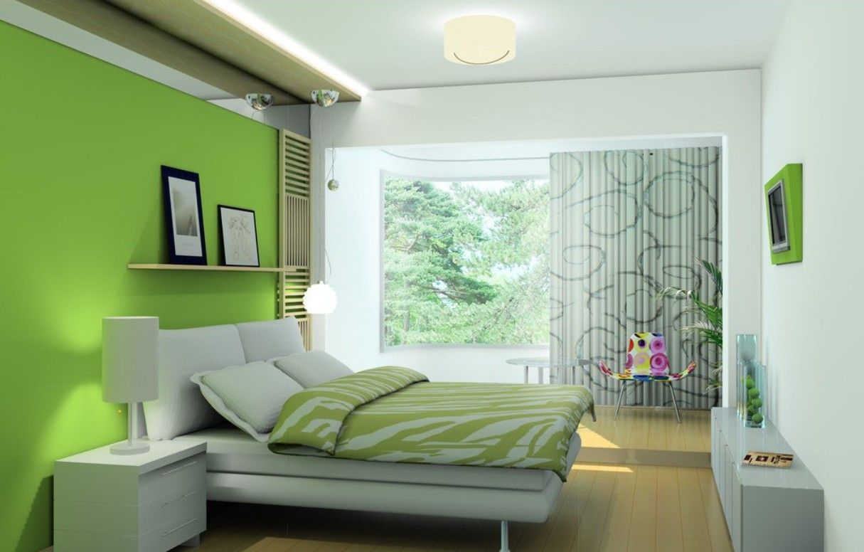 Nice Room · Decorating With Lime Green ...