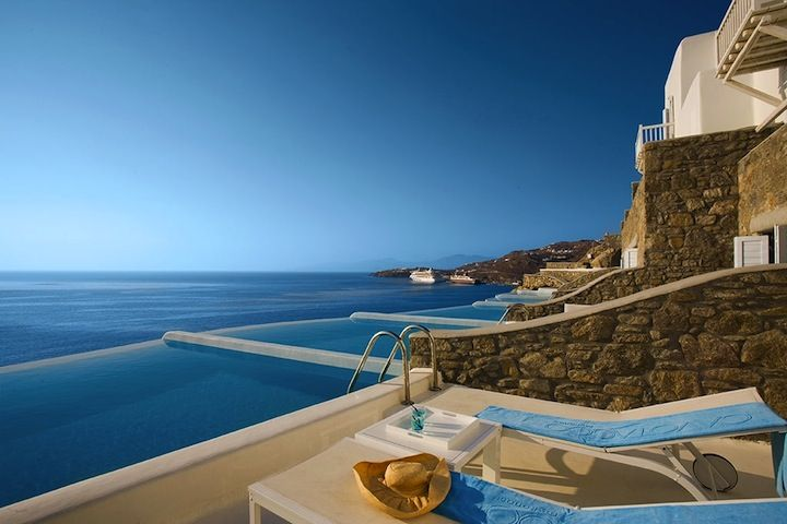 World S Best Hotel Pools Hotel Cavo Tagoo Mykonos Greece
