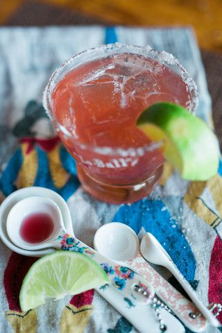 A lovely riff on a margarita. Typically made with grenadine syrup, we use our Raspberry Syrup here with delicious results. 2 oz. tequila blanco3/4 oz. fresh lim