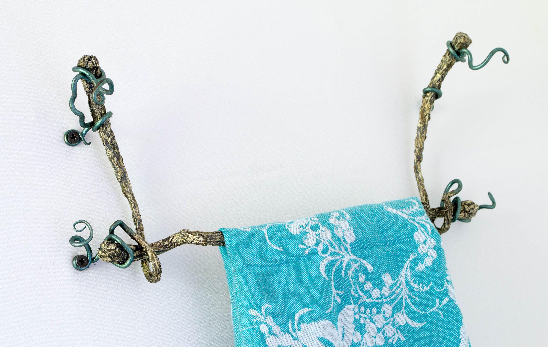 Pin by Carolyn Woo on Towel bar | Pinterest | Towel rack bathroom ...