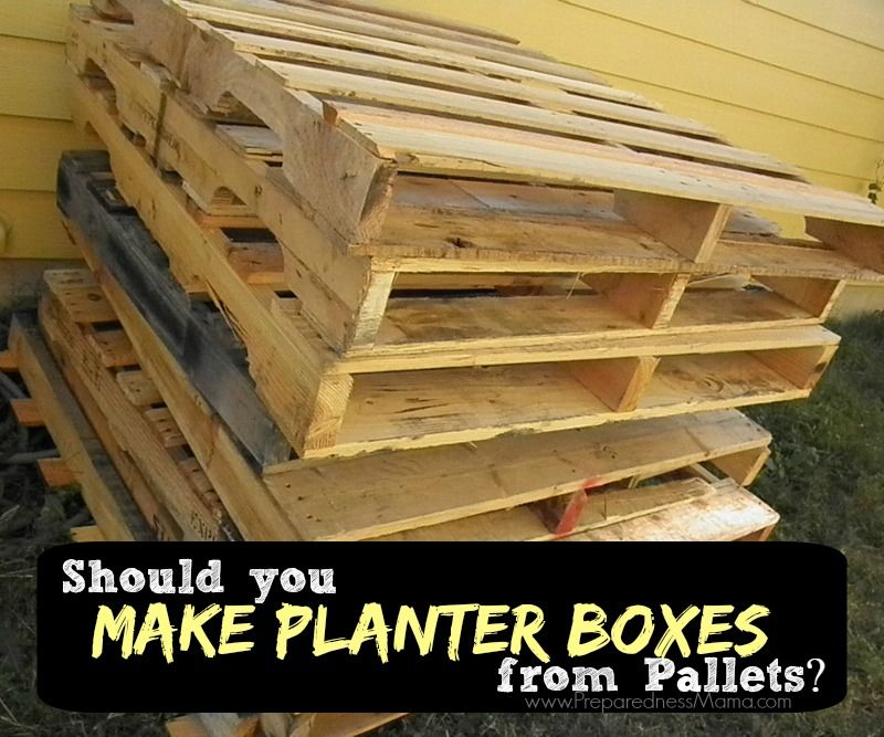 how to tell if a pallet is safe to use in the garden