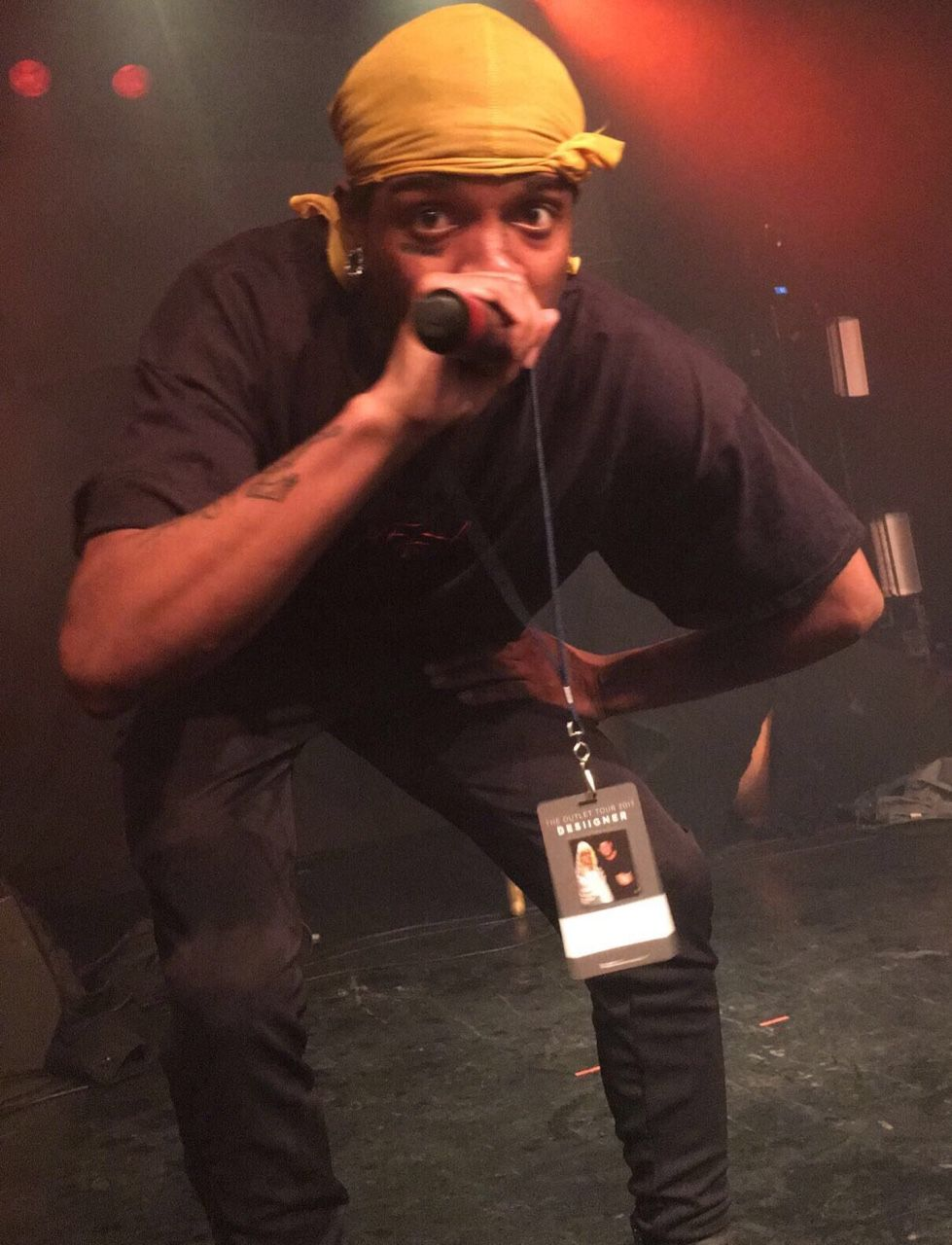 "gothkage ""Ski mask the slump god (my photo 4/3/17"